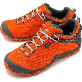 【即納】メレル MERRELL メンズ カメレオン7 ストーム ゴアテックス M CHAMELEON7 STORM GORE-TEX 完全防水 アウトドア トレッキングシューズ 靴 SPICY ORANGE [31135 FW18]