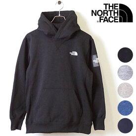 ザ・ノースフェイス THE NORTHFACE メンズ スクエアロゴフーディー Square Logo Hoodie 裏起毛 スウェットプルオーバーパーカー [NT61835 FW19]