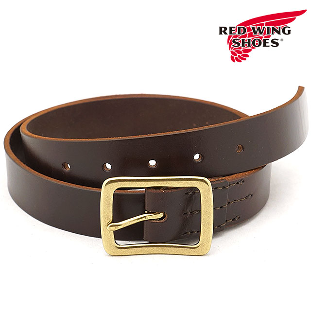 REDWING レッドウィング #96561 レザーベルト 32mm幅 Leather Belt メンズ Havana Brown (96561 FW18)