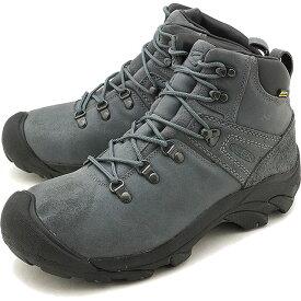 【5/25限定!楽天カードで10倍】【40%OFF/SALE】キーン KEEN メンズ ピレニーズ MEN PYRENEES ハイキング トレッキングシューズ ブーツ 靴 Steel Gray/Black [1019464 FW18]【ts】【e】