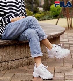 【即納】フィラヘリテージFILAディスラプター2DISRUPTOR2メンズレディーススニーカー靴ダッドシューズ厚底WWT(F0215-1072FW18)【コンビニ受取対応商品】