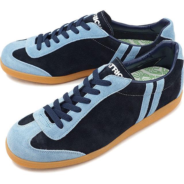 【返品送料無料】パトリック PATRICK アール ディーン R.DEAN メンズ レディース スニーカー 靴 ネイビー NVY (530512 FW18)