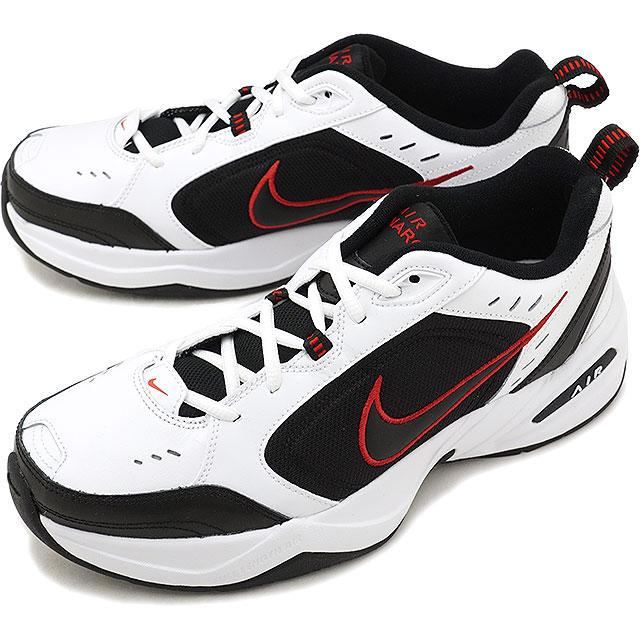【即納】NIKE エア モナーク4 AIR MONARCH IV スニーカー メンズ 靴 ホワイト/ブラック (415445-101 HO18)【コンビニ受取対応商品】