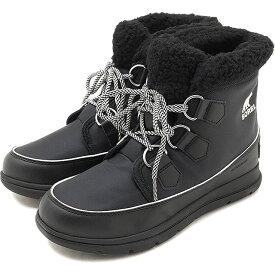 【楽天カードで3倍】SOREL ソレル レディース ソレルエクスプローラーカーニバル W SOREL EXPLORER CARNIVAL ウィンター スノーブーツ アウトドアブーツ BLACK 靴 [NL3040-010 FW18]