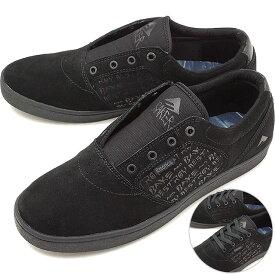 【55%OFF/SALE】【コラボモデル】エメリカ Emerica フィギー ドーズ FIGGY DOSE BAKER スケシュー スケートシューズ メンズ レディース スニーカー 靴 BLACK/BLACK [HO18][ts][e]