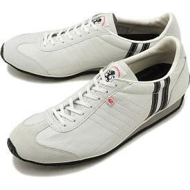 【返品送料無料】【定番モデル】パトリック PATRICK スニーカー IRIS アイリス メンズ レディース 日本製 靴 WHT/BK ホワイト/ブラック [23501]