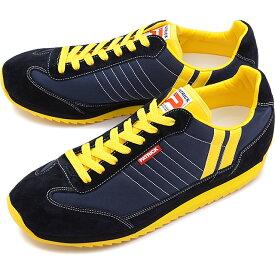 【楽天カードで3倍】【返品送料無料】パトリック PATRICK スニーカー MARATHON マラソン メンズ・レディース 日本製 靴 NAVY ネイビー [9422]【定番モデル】