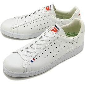 【4/9まで!楽天カードでポイント10倍】【返品送料無料】【ノベルティプレゼント】PATRICK パトリック スニーカー QUEBEC ケベック メンズ・レディース 日本製 靴 WHT ホワイト [119630]【定番モデル】