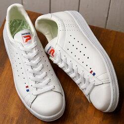 【返品送料無料】【定番モデル】PATRICKパトリックスニーカーQUEBECケベックメンズレディース日本製靴WHTホワイト[119630]