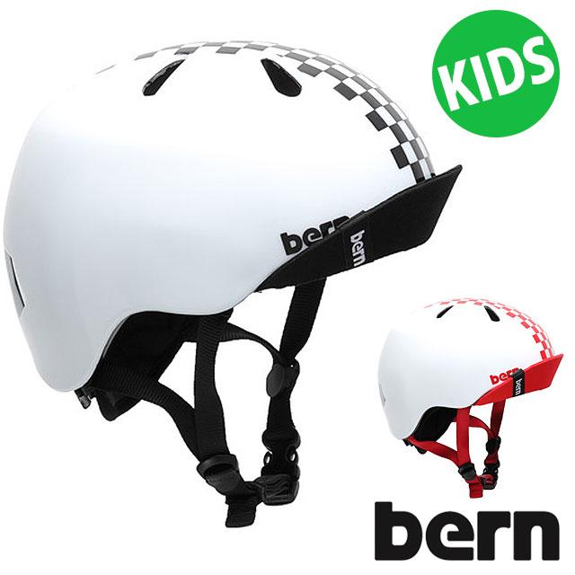 【日本限定】バーン bern キッズ ヘルメット ニーノ NINO ジュニア KIDS 子供用 [BE-VJBWBC/BE-VJBWRC SS19]