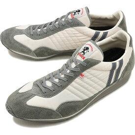 【返品交換送料無料】PATRICK パトリック スニーカー STADIUM スタジアム メンズ・レディース 日本製 靴 WH/GY ホワイト/グレー [23130]【定番モデル】