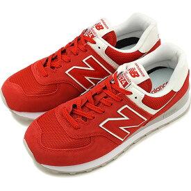 【10%OFFクーポン対象品】ニューバランス newbalance レディース WL574 Bワイズ スニーカー 靴 RED レッド系 [WL574WEC FW19]