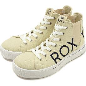 【スーパーSALE限定特価品】【お買得クーポン配布中】ロキシー ROXY レディース マイロキシー ハイ MY ROXY HIGH サイドゴア スニーカー 靴 OWT ホワイト系 [RFT194402 FW19]【sp】【e】