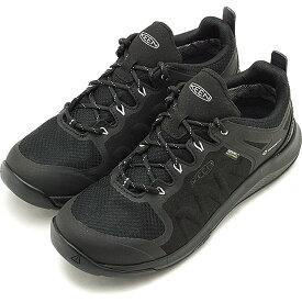 キーン KEEN レディース エクスプロアー ウォータープルーフ W EXPLORE WP アウトドア 防水 トレッキングシューズ ハイキング スニーカー 靴 Black/Star White ブラック系 [1021661 SS19]