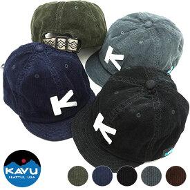【10/29限定!楽天カードで8倍】カブー KAVU コード ベースボール キャップ Coad BaseBall Cap メンズ・レディース アウトドア コーデュロイキャップ 帽子 [19820936]