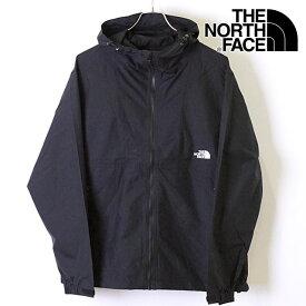 ザ・ノースフェイス THE NORTH FACE メンズ TNF コンパクトジャケット Compact Jacket [NP71830] パッカブル ナイロンジャケット アウター K ブラック ブラック系