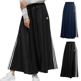 アディダスオリジナルス adidas Originals レディース ロング サテン スカート LONG SATIN SKIRT ロングスカート [GVB38/FL0045 FL0039 FW19]
