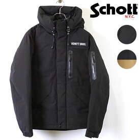 ショット Schott メンズ ツートーン ダウンパーカー 2TONE DOWN PARKA ダウンジャケット マウンテンジャケット [3192036 FW19]