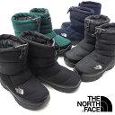 ザ・ノースフェイス THE NORTH FACE ウィンターブーツ TNF ヌプシ ブーティー ウール 5 Nuptse Bootie Wool V メンズ…