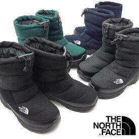 ザ・ノースフェイス THE NORTH FACE ウィンターブーツ TNF ヌプシ ブーティー ウール 5 Nuptse Bootie Wool V メンズ・レディース スノーブーツ 撥水 防寒靴 [NF51978 FW19]