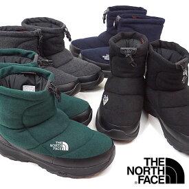 ザ・ノースフェイス THE NORTH FACE ウィンターブーツ TNF ヌプシ ブーティー ウール 5 ショート Nuptse Bootie Wool V Short メンズ・レディース スノーブーツ 撥水 防寒靴 [NF51979 FW19]