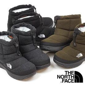 ザ・ノースフェイス THE NORTH FACE レディース TNF ヌプシ ブーティー ウール 5 ショート W Nuptse Bootie Wool V Short ウィンターブーツ スノーブーツ 撥水 防寒靴 [NFW51979 FW19]