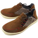 インディアンIndianモカシンピリチュPericuメンズ・レディーススニーカー靴BROWNブラウン系[IND-12513/IND-11513FW19]