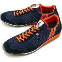 【楽天カードで3倍】【返品送料無料】パトリック PATRICK スニーカー STADIUM スタジアム メンズ・レディース 日本製 靴 NV/ORG ネイビー/オレンジ [23952]【定番モデル】