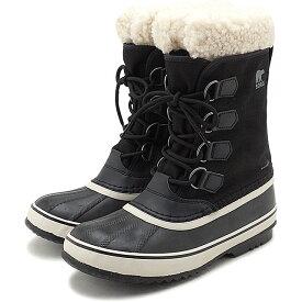 【楽天カードで3倍】ソレル SOREL レディース ウィンターカーニバル WINTER CARNIVAL メンズ・レディース スノーブーツ ウィンター アウトドア 防寒靴 BLACK/STONEブラック系 [NL3483-011 FW19]