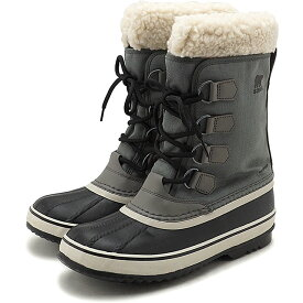 【楽天カードで3倍】ソレル SOREL レディース ウィンターカーニバル WINTER CARNIVAL メンズ・レディース スノーブーツ ウィンター アウトドア 防寒靴 QUARRY/BLACKグレー系 [NL3483-052 FW19]