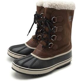 ソレル SOREL メンズ 1964 パックナイロン 1964 PAC NYLON メンズ・レディース スノーブーツ ウィンター アウトドア 防寒靴 TOBACCO/BLACKブラウン系 [NM3487-256 FW19]