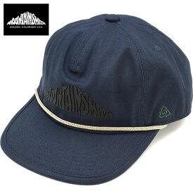【ラスト1個】マウンテンスミス MOUNTAIN SMITH 帽子 リサイクルド コットン ゴールデン キャップ MS Recycled COTTN Golden CAP [MS0-000-201007 SS20] メンズ・レディース フリーサイズ アウトドアキャップ NAVY ネイビー系【ts】