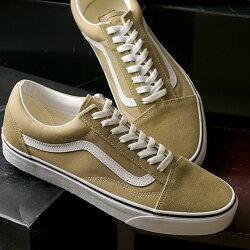 【先行予約】バンズVANSスニーカーオールドスクールOLDSKOOL[VN0A38G17ZFFW20]メンズ・レディースローカットシューズ靴CORNSTALK/TRUEWHITEベージュ系