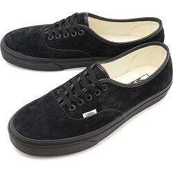 【先行予約】バンズVANSスニーカーピッグスエードオーセンティックPIGSUEDEAUTHENTIC[VN0A2Z5I18LFW20]メンズ・レディースローカットシューズ靴BLACK/BLACKブラック系