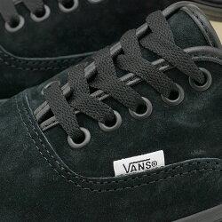 バンズVANSスニーカーピッグスエードオーセンティックPIGSUEDEAUTHENTIC[VN0A2Z5I18LFW20]メンズ・レディースローカットシューズ靴BLACK/BLACKブラック系