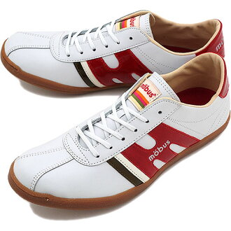 mobus sports shoes shoes munden S. White / D. red patent leather