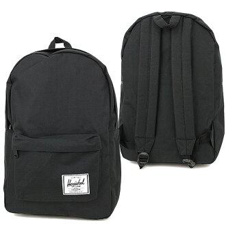 Herschel Supply Hershel supply bag Classic classical music backpack (rucksack day pack) BLACK (10001-00001-OS FW12) fs3gm
