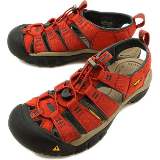 KEEN keen MNS Newport H2 Sport Sandals Newport H2 men Burnt Henna /Dark Shadow ( 1008392 SS13 ) fs3gm