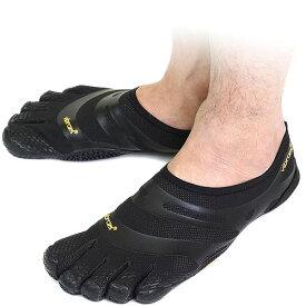 Vibram FiveFingers ビブラムファイブフィンガーズ メンズ EL-X Black ビブラム ファイブフィンガーズ 5本指シューズ ベアフット靴 [13M0101]