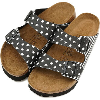 Time ■ sale! Surprise 40 %OFF! ■ Birki's Bilkey SANTIAGO sandal Santiago BF Stars Black/Stripes Black ( 113331 SS13 ) /BIRKENSTOCK by Birkenstock men's