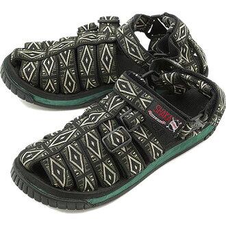 沙加沙加運動涼鞋徒步遠足橄欖鑽石 SK12-001 SS13)