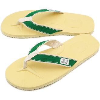 SUICOKE sicock 涼鞋陶托托-B (vibram 鞋墊) 綠色 (SS13)