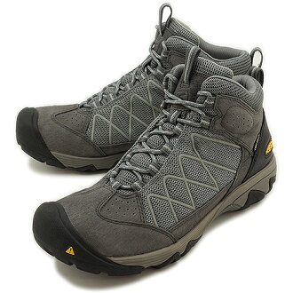 KEEN keen MNS Verdi II Mid WP trekking Shoes Sneakers Verdi 2 mid waterproof men's Magnet/Neutral Gray ( 1009622 FW13 ) fs3gm