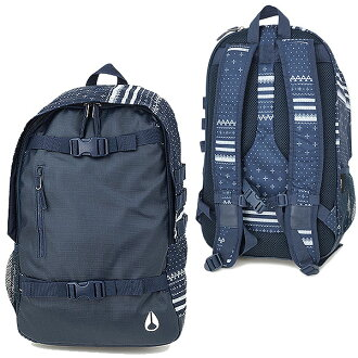 NIXON尼克鬆包SMITH SKATEPACK II史斯密溜冰包2(背包帆布背包日包)GUARDSMEN NAVY(NC19541471-00 FW13)1215_NIXON_SMITH II