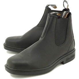 【10%OFFクーポン対象品】Blundstone ブランドストーン サイドゴアブーツ BS063 スムースレザー ボルタンブラック靴 [BS063089]