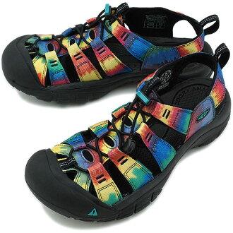 热衷于热衷于无线网状网纽波特 H2 运动凉鞋纽波特 H2 妇女领带染料黑色 (1008105 SS12)