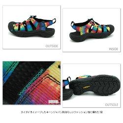 KEENキーンWMNSNewportH2スポーツサンダルニューポートH2ウィメンズDyeBlack(510230-SS12)【bp】【smtb-TD】【saitama】