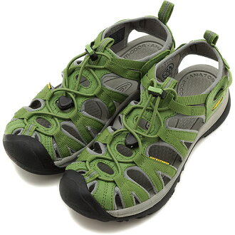 KEEN keen WMNS Whisper Sport Sandals whisper women's Jade Green/Neutral Gray ( 1003719 ) fs3gm