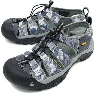 KEEN基恩Newport H2 CAMO MNS運動涼鞋紐波特H2野鴨人White Camo(1001945 SS10)
