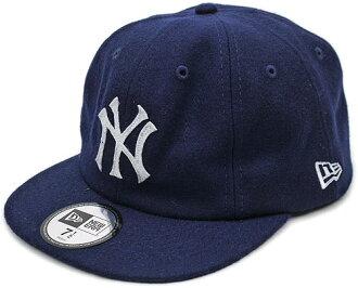 NEWERA新埃拉套帽子8-Panel 19TWENTY纽约扬基队库巴的市镇深蓝CAP(N0000668)(NEW ERA)